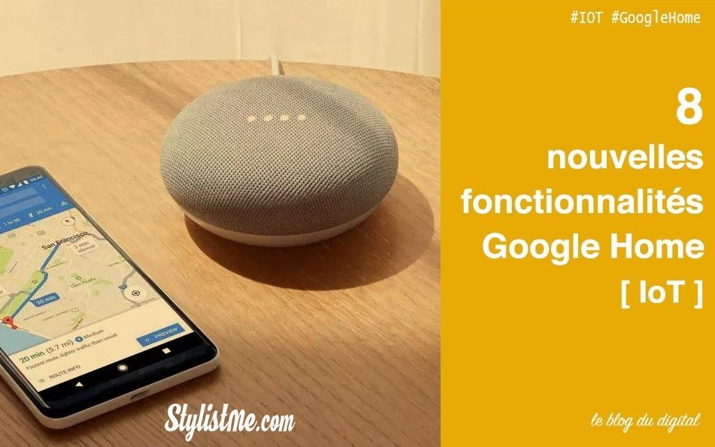 Fonctionnalités Google Home : Tout ce que vous pouvez faire avec !