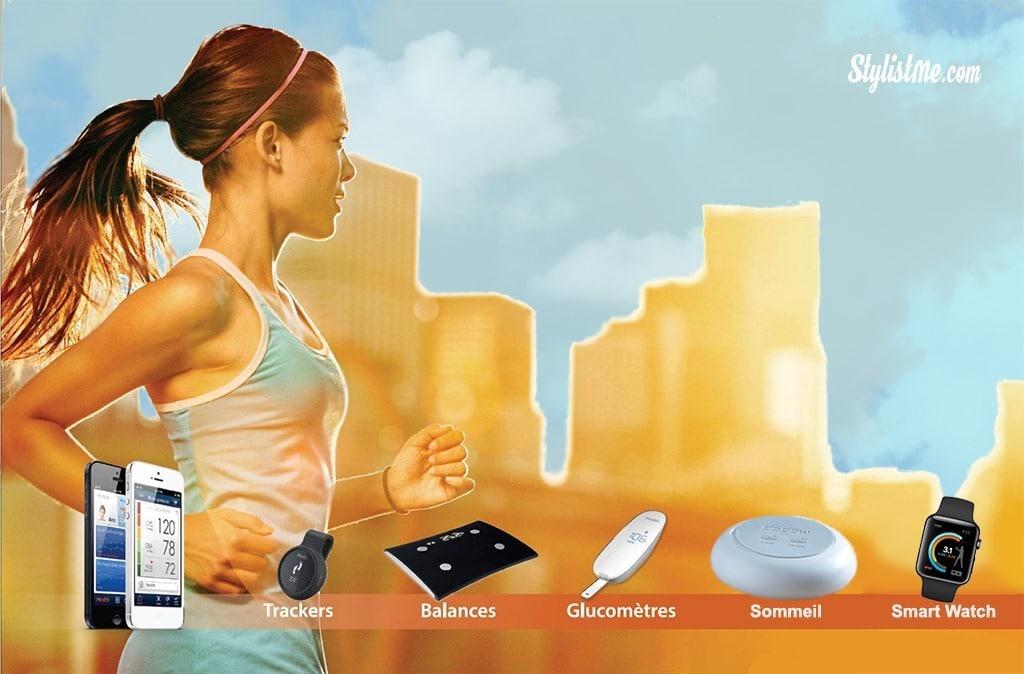 Marché des objets santé connectés les différents objets