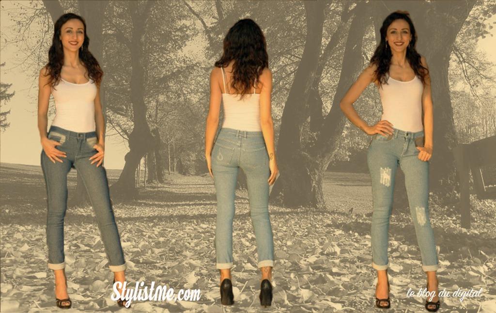 vêtement connecté Jeans Spinali Design