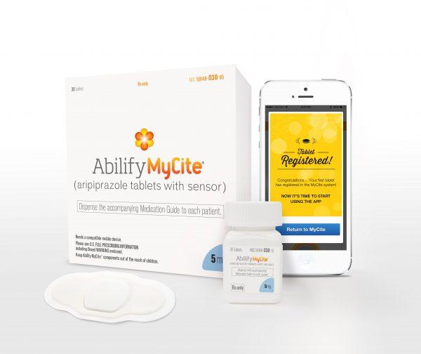 ABILIFY MYCITE pilule connectée e-santé