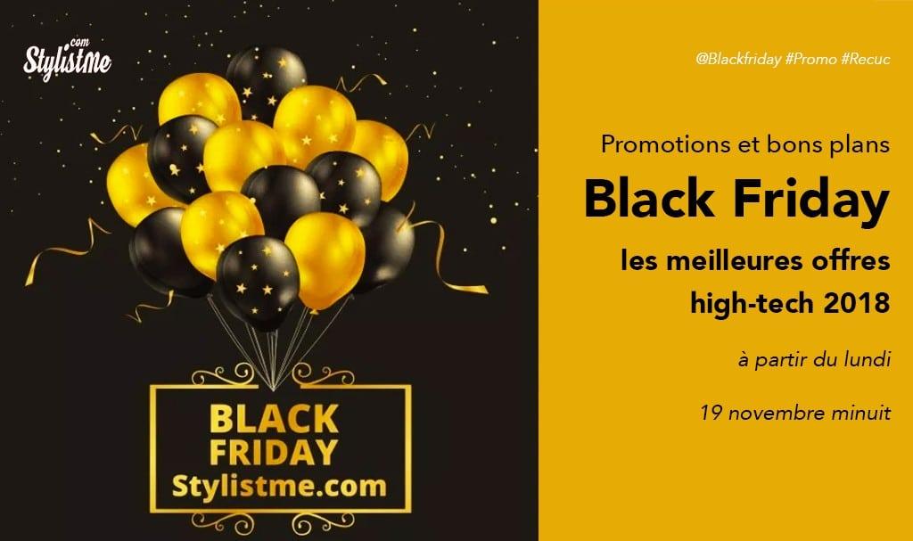 Black friday 2018 promotion high-tech, objets connectés, assistant vocal