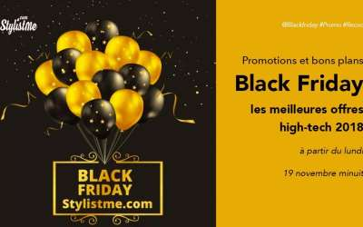 Black friday 2018 promotion high-tech, objets connectés, assistant vocal