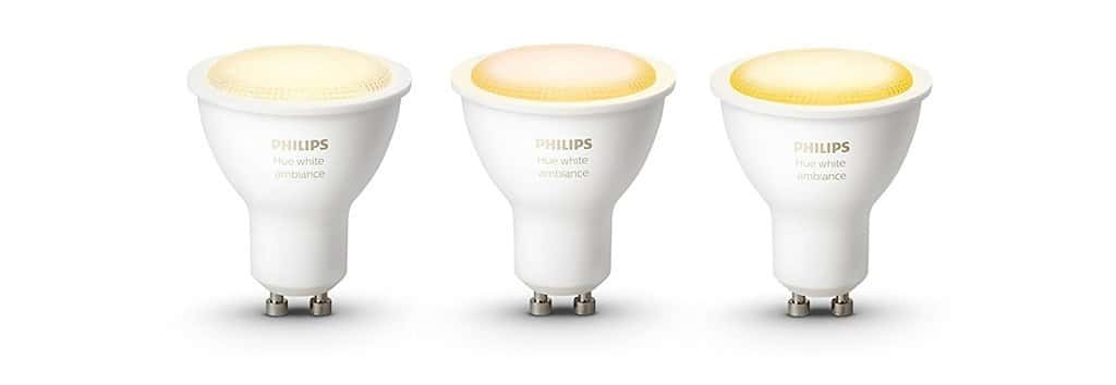 promo philips hue white GU10