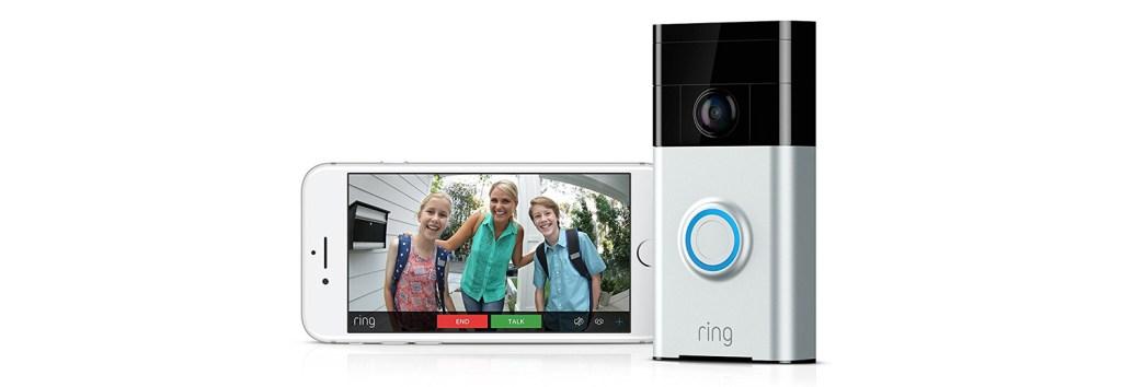 ring portier vidéo wifi