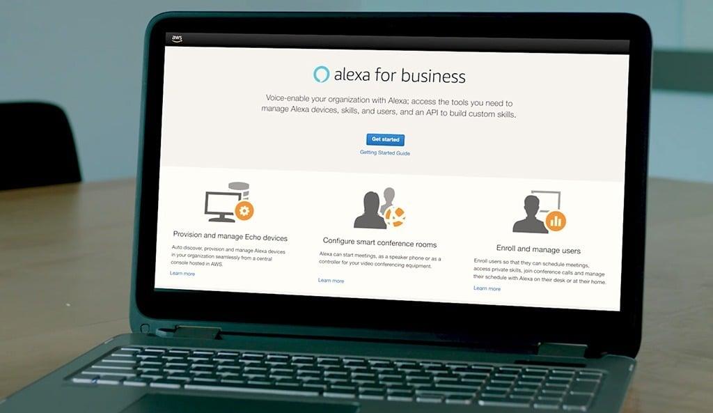 Alexa-for-business-amazon-plateforme-aws