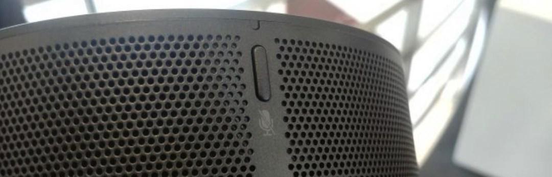 LG ThinQ Speaker test design fonction bouton