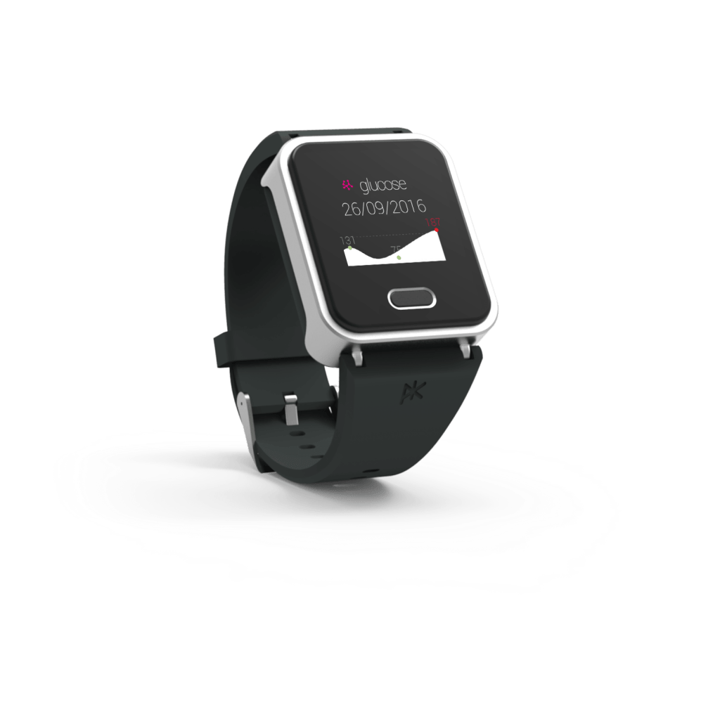 K'Track Glucose montre suivi diabète