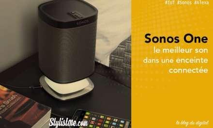 Sonos One avis test de l'enceinte Alexa Amazon et Google Assistant