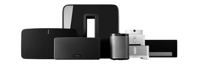 Alexa multiroom enceinte compatible Sonos