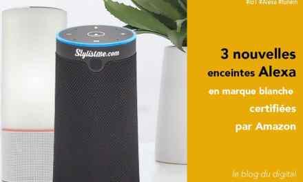 Amazon Alexa lance 3 enceintes en marque blanche : Junlam, Narui et Adition !