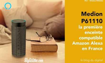 Medion P61110 avis test nouvelle enceinte Amazon Alexa