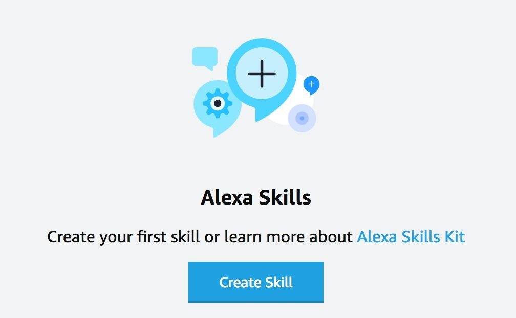 créer votre premier Alexa skills