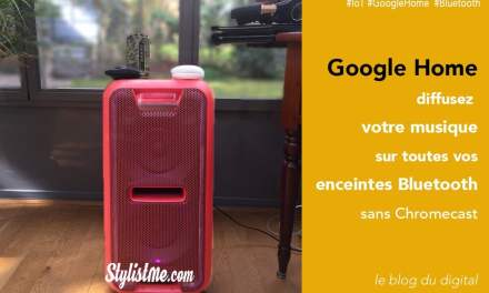 Comment connecter une enceinte bluetooth à Google Home sans Chromecast [Tuto]