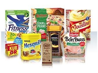 marque produits Nestlé émile et 1 recette