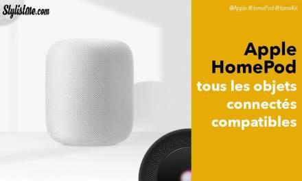 Apple HomePod HomeKit tous les objets connectés compatibles