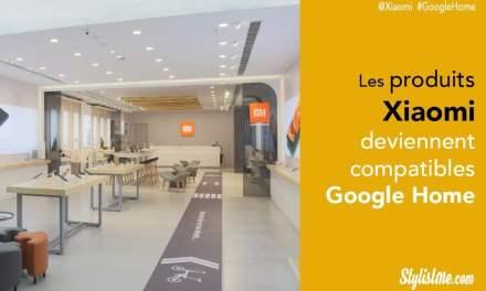 Xiaomi devient compatible Google Home, ampoule prise lampe connectées