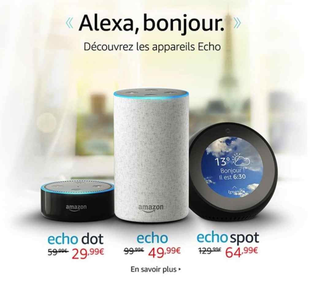 amazon echo echo dot echo spot en precommande