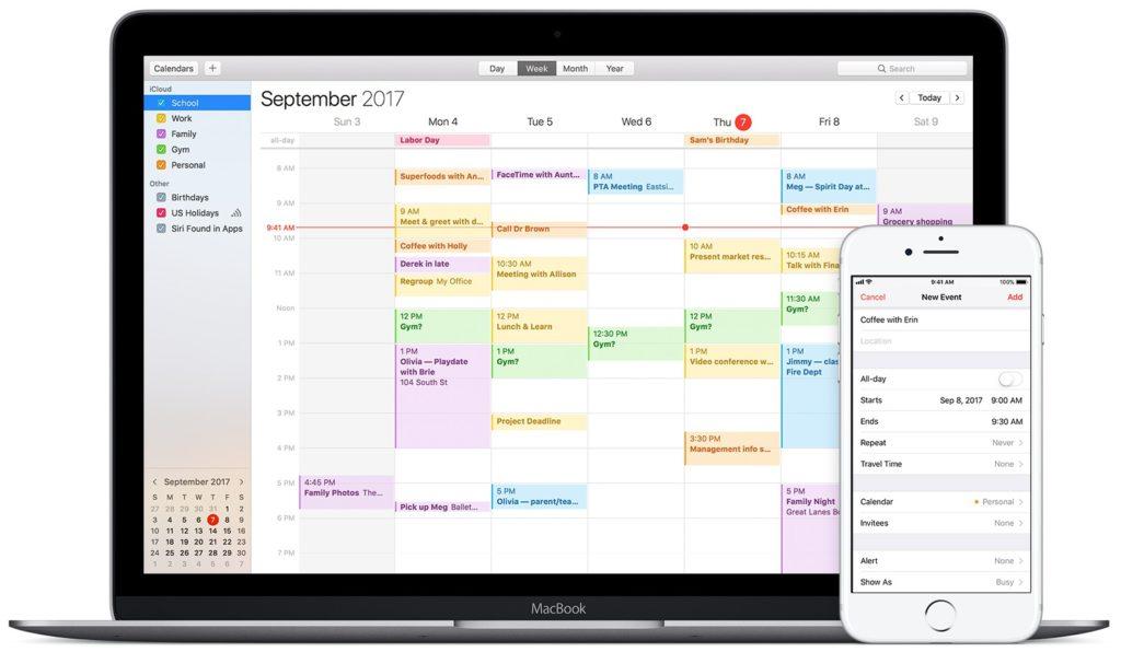 Amazon Echo comment utiliser calendrier icloud calendar