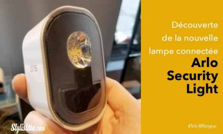 Arlo Security Light test avis de l'éclairage connecté de Netgear