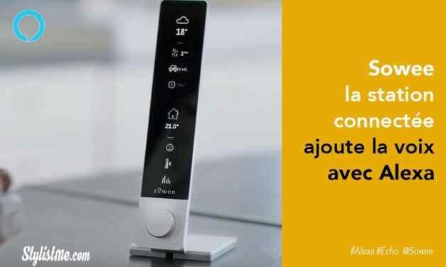 Sowee la station connectée d'EDF avec thermostat  intègre Amazon Alexa