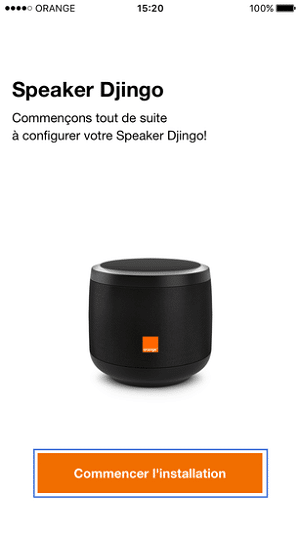 comment installer Djingo Orange