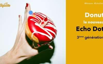 Echo Dot 3ème génération : rumeur ou fuite volontaire d'Amzon autour d'un donut !