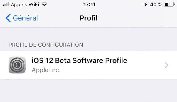 ios 12 béta app measure installer configurer
