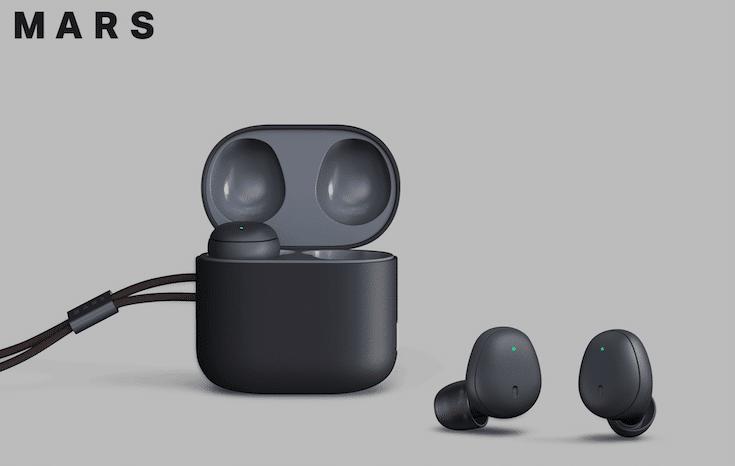 Mars earbuds écouteurs traducteur Line Naver