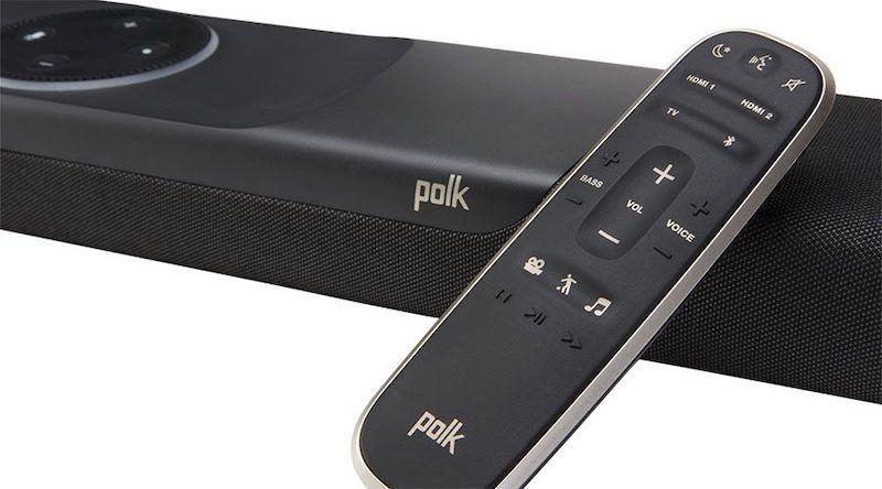 Polk Command bar test avis télécommande