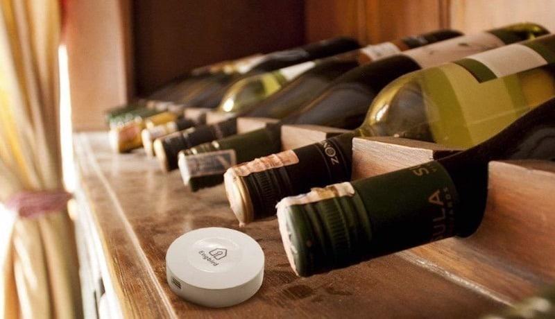 vin connecté capteur humidité température inkbird IBS
