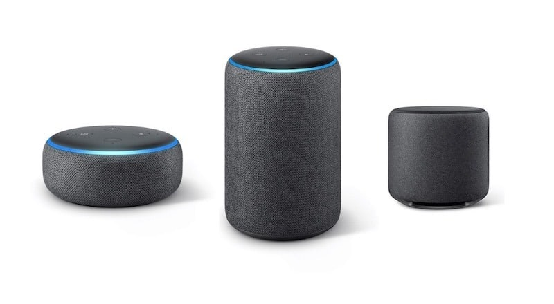 Amazon Echo appareils compatibles : enceintes Alexa