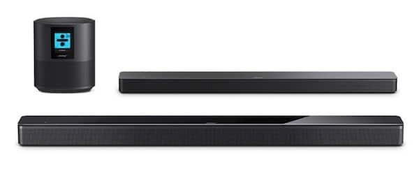 Bose home speaker 500 Bose Soundbar 500 700