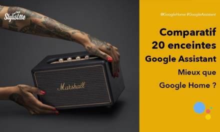 Comparatif enceintes Google Assistant pour faire le meilleur choix