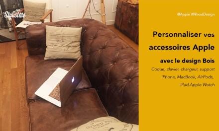 Accessoires bois Apple Watch iPhone iPad AirPods MacBook 100% design