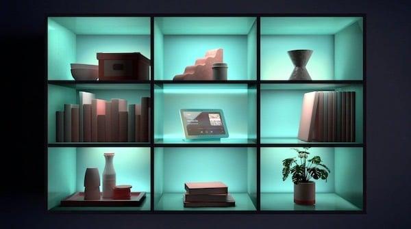 Google Home Hub EQ Ambiant