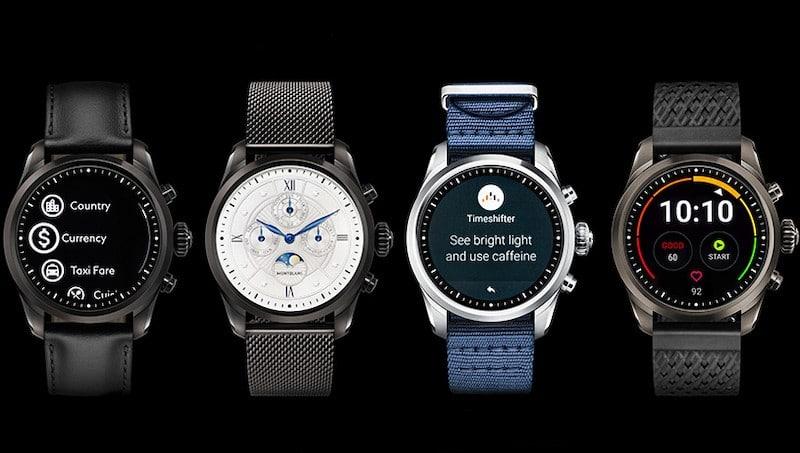 mont blanc montre connectée summit 2 prix bracelet
