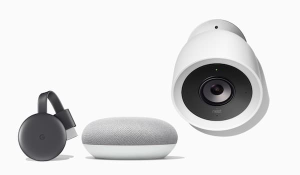Pack Chromecast Google Home Nest