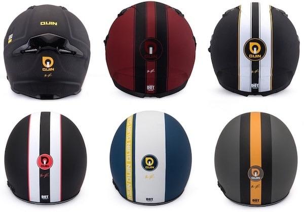 Quin casque connecté design