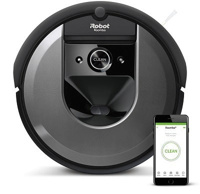 roomba i7+ irobot test avis design dessus