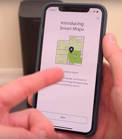 Roomba i7+ iRobot test avis plan cartographie