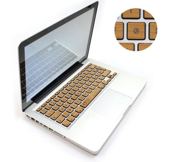 Woodstache-clavier-MacBook-bois-rétroéclairé