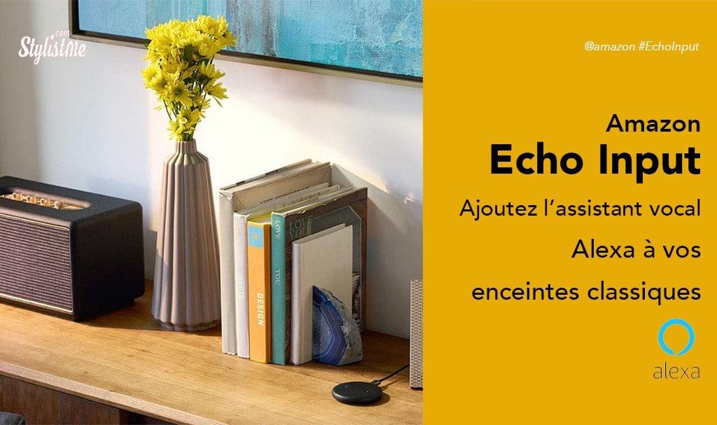 Amazon Echo Input avis test prix ajoutez Alexa à vos enceintes classiques