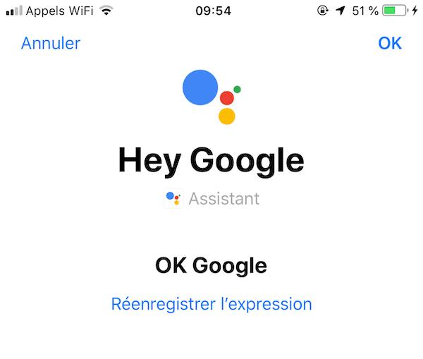 Comment utiliser Siri pour lancer Google Assistant 2