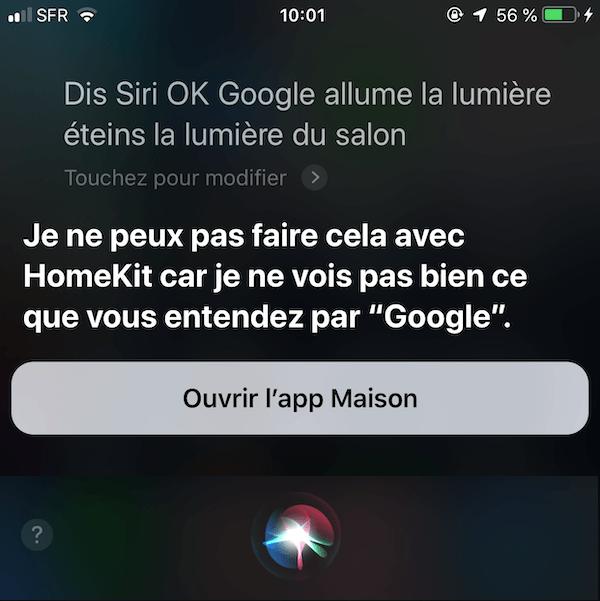 Comment utiliser Siri pour lancer Google Assistant 3