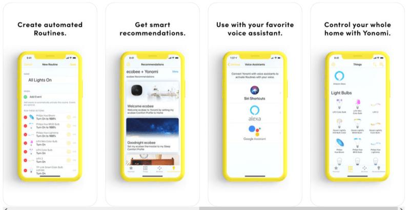utiliser Sonos avec Google Home App Yonomi pour Google Assistant