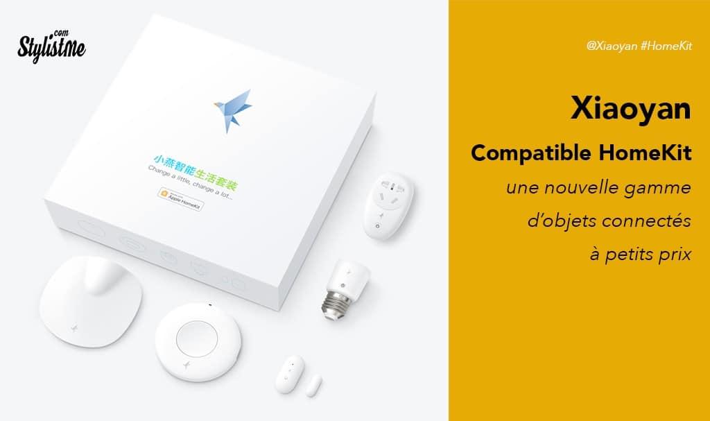 Xiaoyan HomeKit la nouvelle offre chinoise compatible Apple Maison