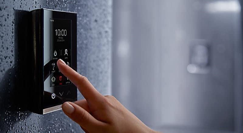 CES 2019 nouveautés douche DTV+ connectee avec musique eau et lumiere