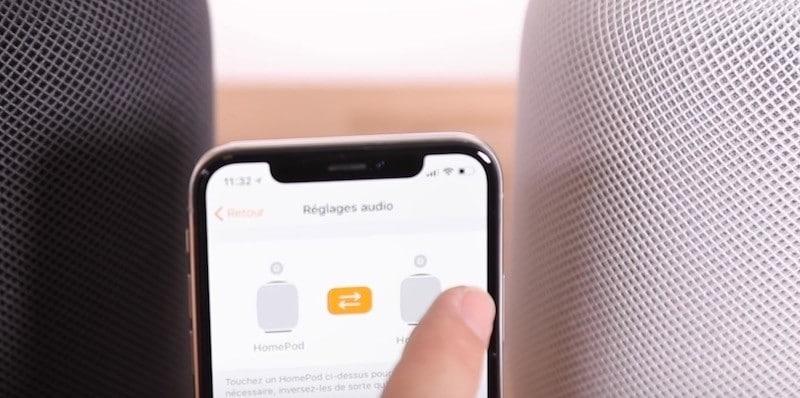 Comment ajouter des enceintes Sonos à HomePod Stéréo
