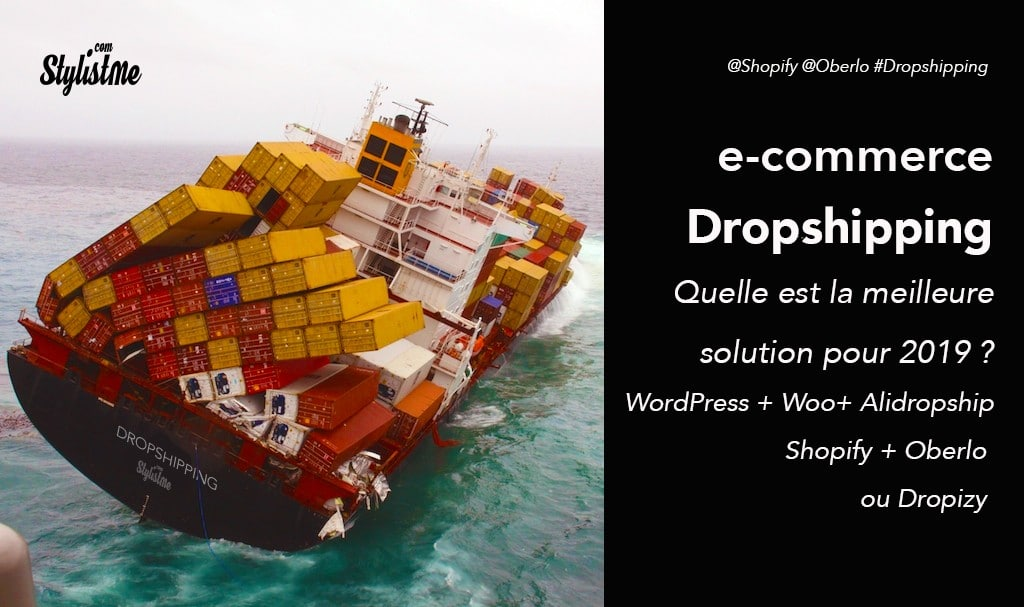 Dropshipping comparatif des 3 solutions ecommerce : WordPress, Shopify ou Dropizi