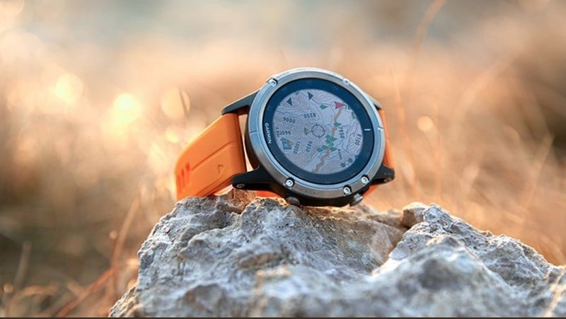 Fenix 5 Plus parvours GPS course à pied